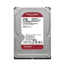 "Western Digital 3,5"" 2000GB belső SATAIII 5400RPM 256MB RED WD20EFAX winchester 3 év"