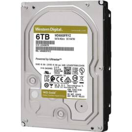 "Western Digital 3,5"" 6000GB belső SATAIII 7200RPM 256MB Gold WD6003FRYZ winchester"