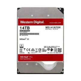 """Western Digital 3,5"""" 14000GB belső SATAIII 7200RPM 512MB RED PRO WD141KFGX winchester 5 év"""