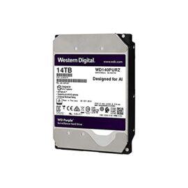 """Western Digital 3,5"""" 14000GB belső SATAIII 7200RPM 512MB PURPLE WD140PURZ winchester 3 év"""