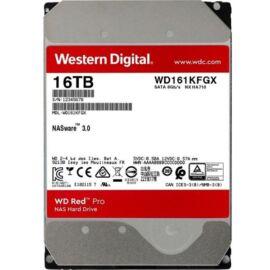 """Western Digital 3,5"""" 16000GB belső SATAIII 7200RPM 512MB RED PRO WD161KFGX winchester 5 év"""