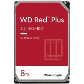 "Western Digital 3,5"" 8000GB belső SATAIII 7200RPM 256MB RED PLUS WD80EFBX winchester 3 év"