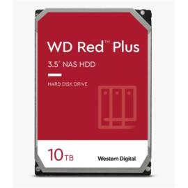 "Western Digital 3,5"" 10000GB belső SATAIII 7200RPM 256MB RED PLUS WD101EFBX winchester 3 év"