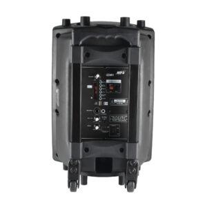 PAB 25A PAB25A aktív hangdoboz+keverő+vezeték nélküli mikrofon+beépített akkumulátor