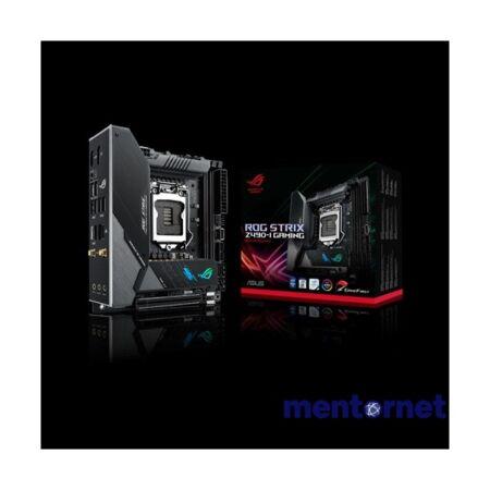 ASUS ROG STRIX Z490-I GAMING Intel Z490 LGA1200 mini-ITX alaplap
