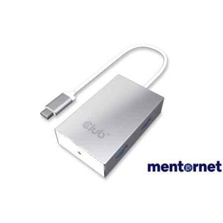 CLUB3D SenseVision USB 3.0 C - 4x USB 3.0 A HUB