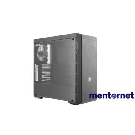 Cooler Master B600L táp nélküli fekete ATX ház