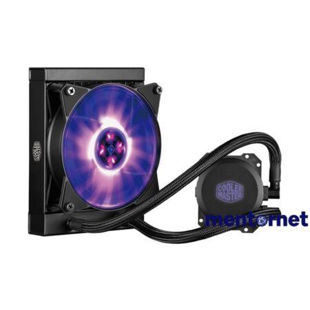 Cooler Master MasterLiquid ML120L 80x76x42mm 650-2000RPM (Intel, AMD) RGB led vízhűtéses processzor hűtő