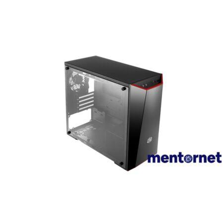 Cooler Master MasterBox Lite 3.1 táp nélküli fekete mATX ház