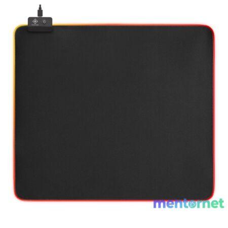 Deltaco Gaming GAM-078 RGB világító fekete 350x400 mm egérpad