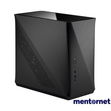 Fractal Design Era ITX Fekete ablakos (Táp nélküli) mini-ITX ház