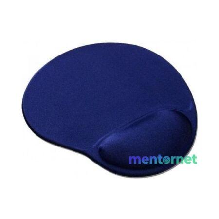 Gembird MP-GEL-B zselés csuklótámaszos kék egérpad