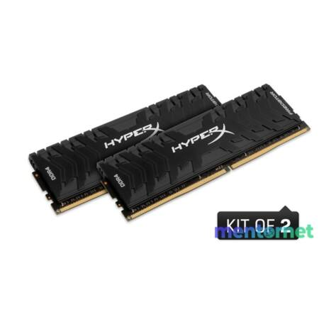 Kingston 16GB/2400MHz DDR-4 (Kit 2db 8GB) HyperX Predator XMP (HX424C12PB3K2/16) memória