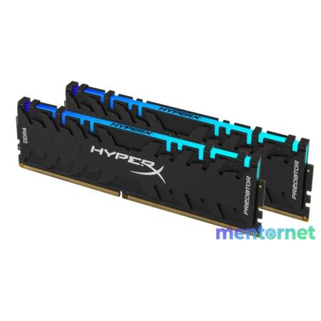 Kingston 16GB/3200MHz DDR-4 HyperX Predator RGB XMP (Kit! 2db 8GB) (HX432C16PB3AK2/16) memória