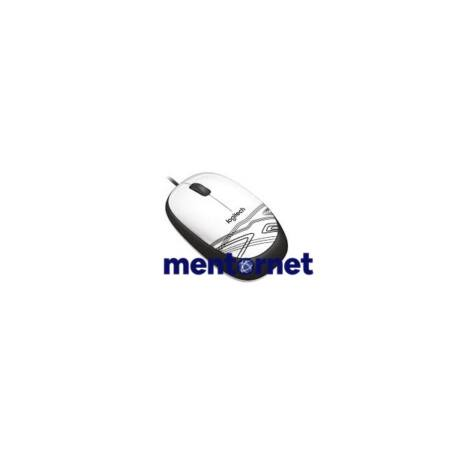Logitech M105 USB fehér egér