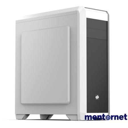 SilentiumPC Regnum RG4F Fehér (Táp nélküli) ATX ház