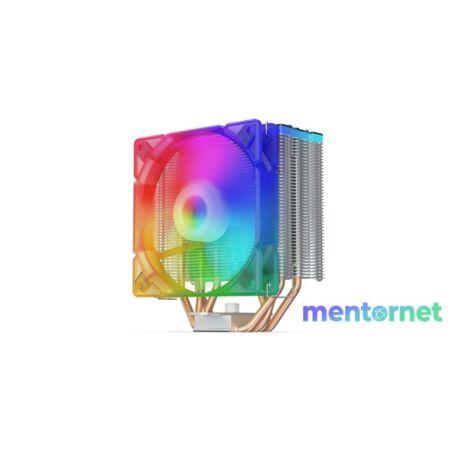 SilentiumPC Fera 3 EVO ARGB 120mm Fekete processzor hűtő