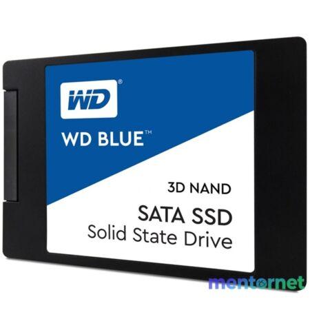 """Western Digital 500GB SATA3 2,5"""" 3D Blue 7mm (WDS500G2B0A) SSD"""