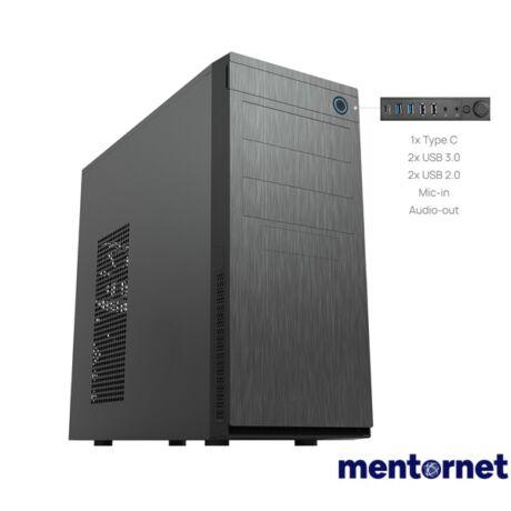 Chieftec HC-10B-OP ELOX szériás táp nélküli mATX ATX ház