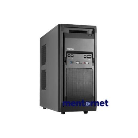 Chieftec LF-02B-OP táp nélküli fekete mATX ház