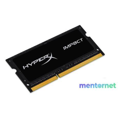 Kingston 4GB/1600MHz DDR-3 HyperX Impact Black 1,35V (HX316LS9IB/4) notebook memória