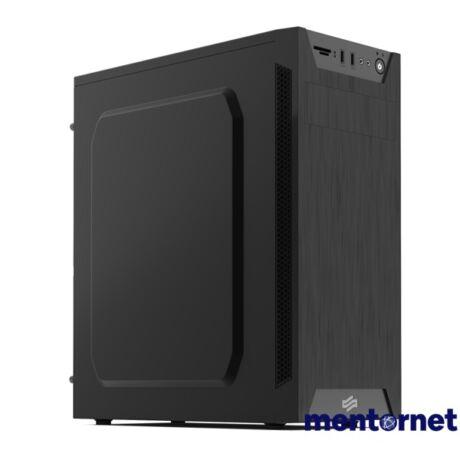 SilentiumPC Armis AR1 Fekete (Táp nélküli) ATX ház