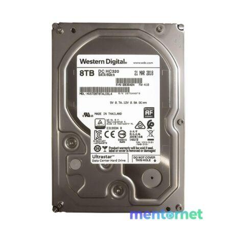 """Western Digital 3,5"""" 8000GB belső SATAIII 7200RPM 256MB Ultrastar DC HC320 HUS728T8TALE6L4  winchester"""