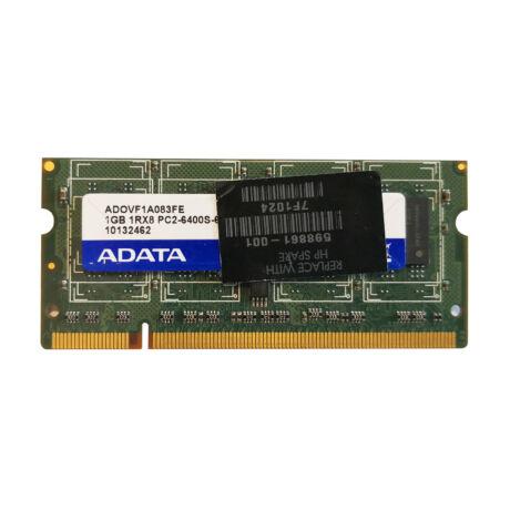 1GB, DDR2, 800MHz notebook memória (PC2-6400S-666, ADOVF1A083FE)