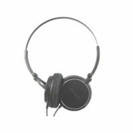 desti Saiga20 fekete összecsukható vezetékes fejhallgató
