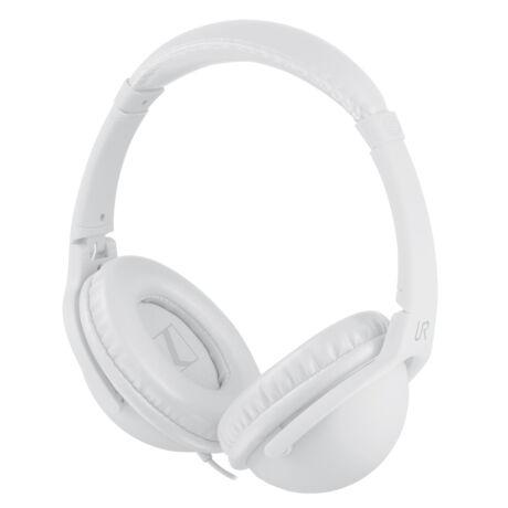 Urban Revolt Duga (19626) fehér mikrofonos vezetékes headset - fejhallgató