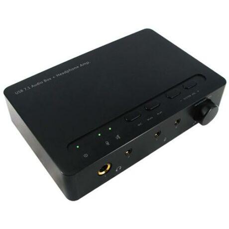 7.1 USB 24bit/192kHz külső hangkártya UAU13