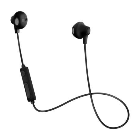 BH102 fekete mikrofonos Bluetooth headset - fülhallgató