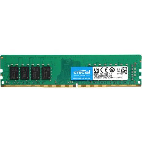 DDR4  8GB, 2400MHz, Curcial CT8G4DFD824A