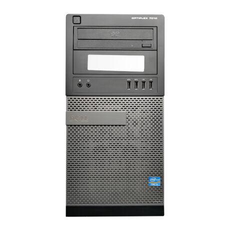 Optiplex 7010 T, i5-3470S, 16GB RAM, 500GB HDD, DVD RW, Windows 10 használt PC