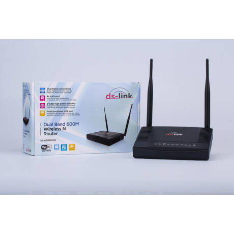 DS-WDR3000N 600M DualBand wireless router