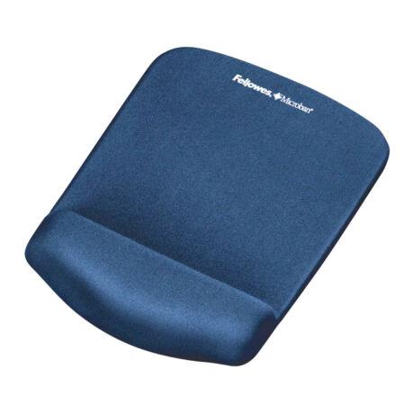 PlushTouch™ habtöltésű egéralátét csuklótámasszal, kék