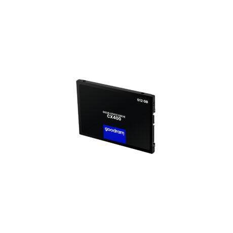 HDD SSD 512GB  SSD - 512GB CX400 (3D TLC, r:550 MB/s; w:490 MB/s, SATA3) OEM Csomagolás nélkül.
