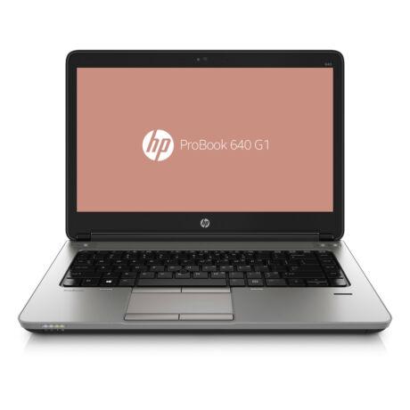 "ProBook 640 G1, 14"" HD, Intel Core i5 4300M, 4GB,128GB SSD + Windows10 Pro használt notebook"