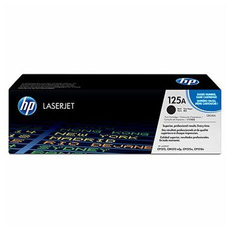CB540A 125A fekete toner - eredeti Color LaserJet CP1215 CP1515N CP1518Ni