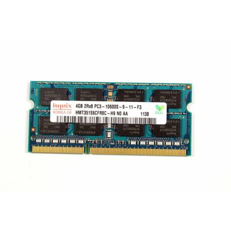 DDR3 4096MB, 1333MHz, PC3-10600S - Notebook Ram