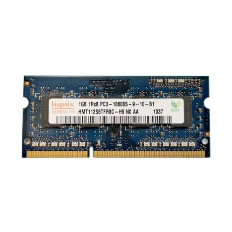 1GB, DDR3, 1333MHz notebook memória (PC3-10600, HMT112S6TFR8C)
