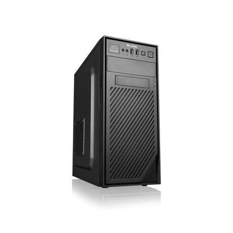 H2 midiATX számítógép ház táp nélkül