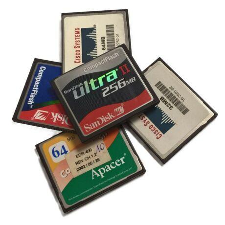 1024MB ( 1GB ) Compact Flash memóriakártya - használt Smart