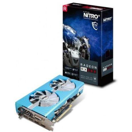NITRO+ RX 580 8GB Special Edition 20G AMD 8GB GDDR5 256bit PCIe videokártya 11265-21-20G