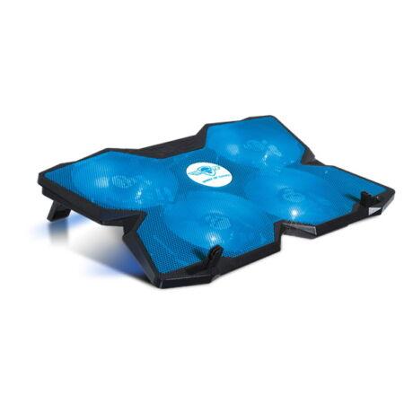 """Airblade 500 blue SOG-VE500BL notebook hűtőpad max.17""""-ig"""