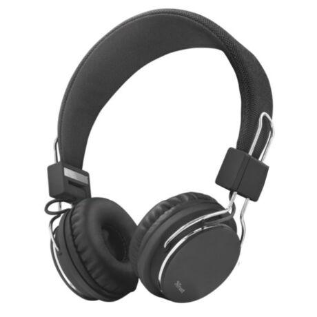 Urban Ziva (21821) fekete mikrofonos vezetékes headset - fejhallgató