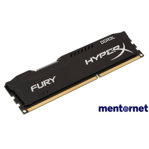 Kingston 4GB/1600MHz DDR-3 HyperX FURY fekete LoVo (HX316LC10FB/4) memória
