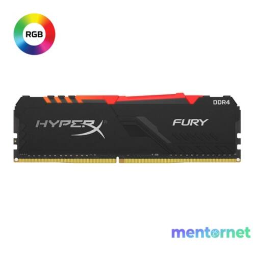 Kingston 16GB/2666MHz DDR-4 HyperX FURY RGB (HX426C16FB3A/16) memória