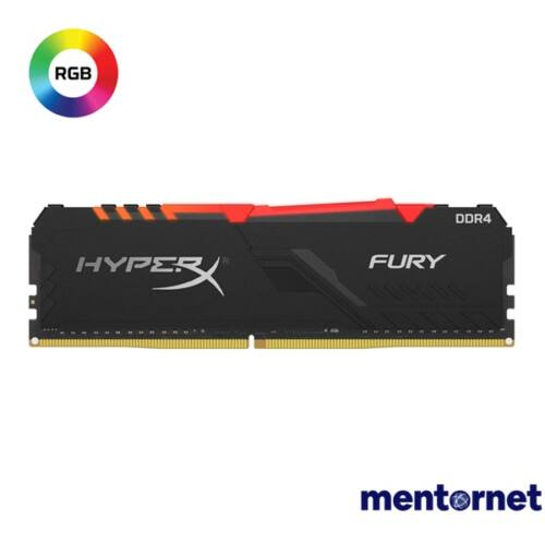 Kingston 8GB/3000MHz DDR-4 1Rx8 HyperX FURY RGB (HX430C15FB3A/8) memória