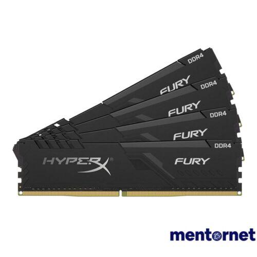 Kingston 64GB/3000MHz DDR-4 HyperX FURY fekete (Kit 4db 16GB) (HX430C16FB4K4/64) memória